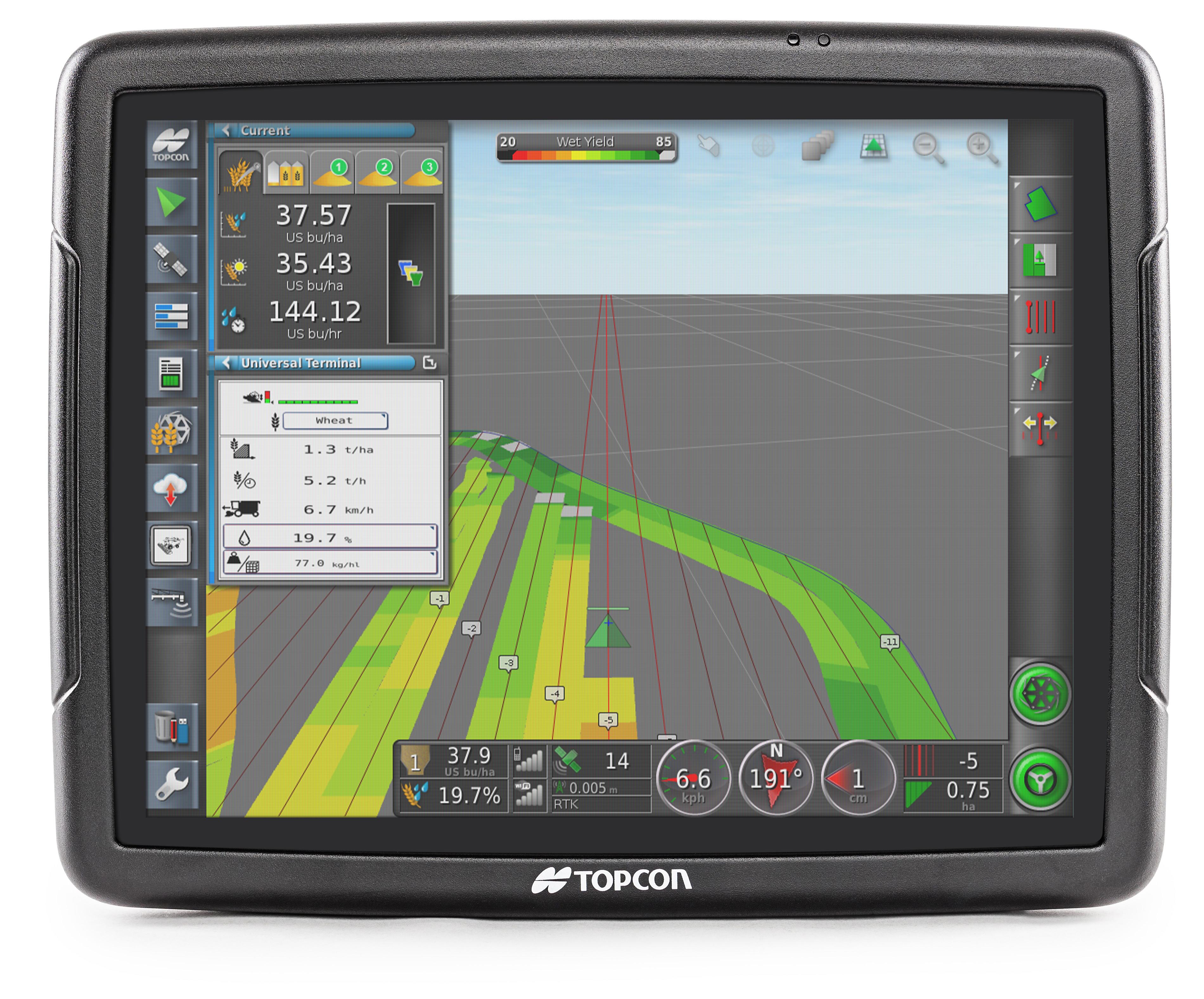 Topcon Totalcare X35 Console