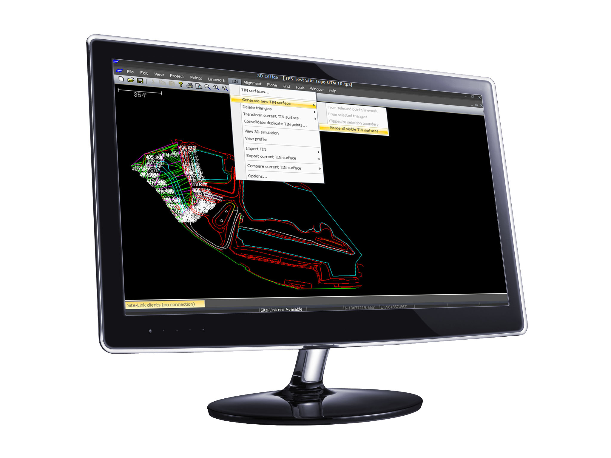 Topcon 3D-Office. Slideshow
